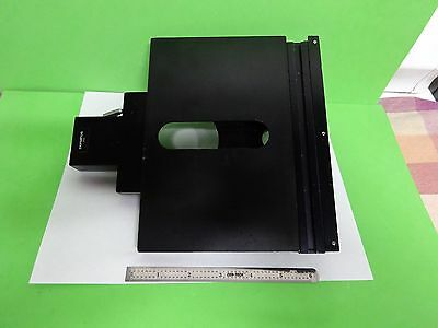 Microscope Part Olympus Japan Stage Micrometer Table For Bh2 As Is Bin#V8-04