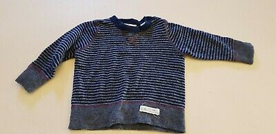 Country Road Baby Boys Knit Jumper Sz 3 -6 Months