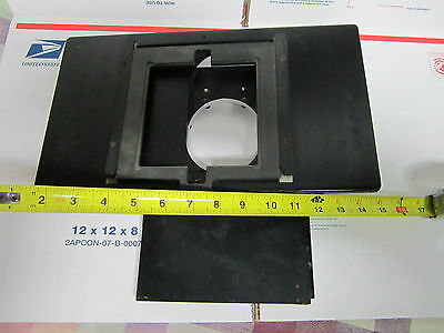 Optical Microscope Part Zeiss Germany Huge Wafer Inspection Stage Optics Bin#19