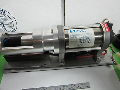 HP HEWLETT PACKARD HELIUM NEON PHYSICS PACKAGE ASSEMBLY LASER OPTICS BIN#L4-i
