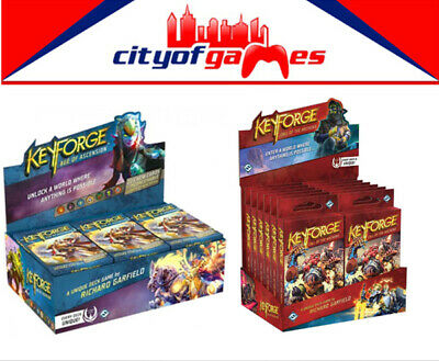 KeyForge Call of the Archons! & Age of Ascension Display Deck (12 decks) Bundle