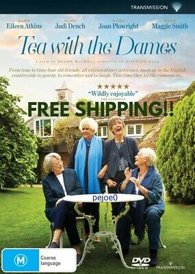 Tea With The Dames DVD Reg 4 FREE POST! New! 2018