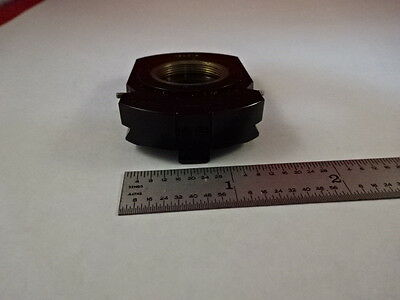 Microscope Part Zeiss Polarizer Objective Holder Pol Optics As Is #T2-B-07