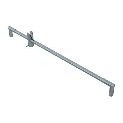 "Bathroom Handheld Shower Slide Bar Chrome Brass 30"" L 
