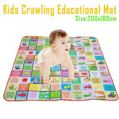 Floor Rug Picnic Cushions Non-toxic Double Side Baby Crawling Playmats Kids Mat