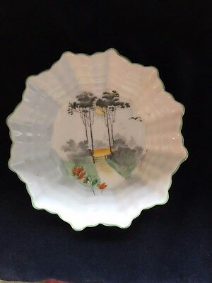 Shelley 12 sided trinket bowl English collectible china