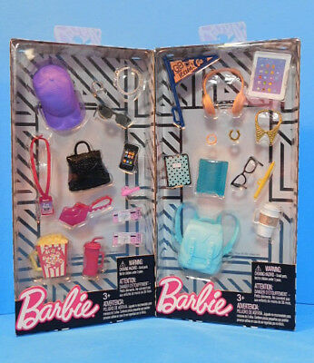 Barbie Doll  Accessory Pack Lot  Movie  School Accessories   Lot 6