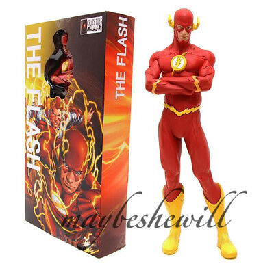 "Crazy Toys DC justice league The Flash Barry Allen 9"" Figure Model Play Toy Gift"
