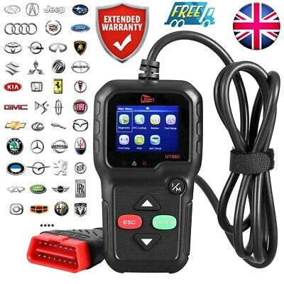 Universal Car Fault KW680 Code Reader OBD2 EOBD CAN Diagnostic Scanner Tool