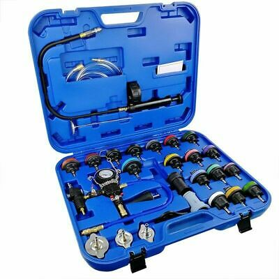 28pcs Car Radiator Pressure Tester Vacuum-Type Cooling System Refill Kit D0305