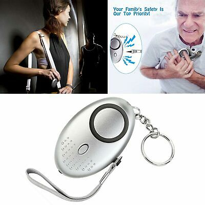 Personal Panic Rape Attack Safety Security Alarm Police Keyring Approved 140db