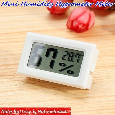 Mini LCD Thermometer Hygrometer Temperature Humidity Embedded Meter Digital