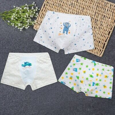 Baby Boys Girls Underwear Boxer Cotton Cartoon Children Panties Kids Und CZK