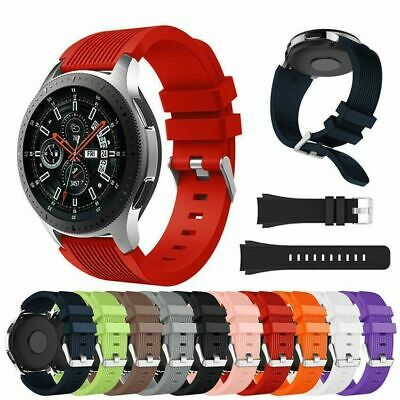 Replace Wrist Band Silicone Strap Bracelet Belt For Samsung Galaxy Watch 42/46mm