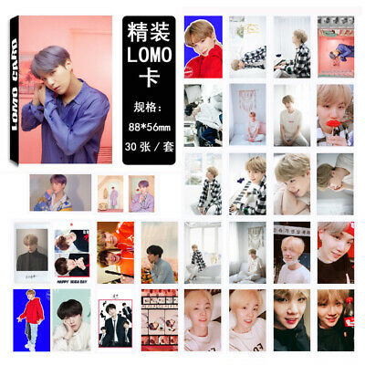 KPOP Bangtan Boys Album MAP OF THE SOUL PERSONA SUGA Lomo Card Photo Card
