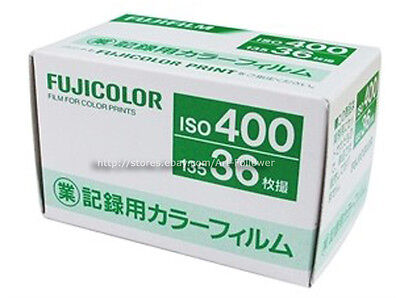 10 Rolls FUJI 400 iso COLOR 135 36exp 35mm Film Print Limited Edition Fresh 2021