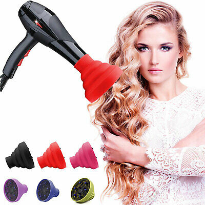 Silicone Salon Professional Universal Diffuser Foldable Travel For Hair Dryer