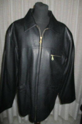 big sale 9fe5b df55e GIACCA GIACCONE IMPERMEABILE Cappotto Pelle Jacket Leather