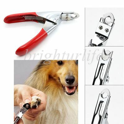 Dog Cat Pet Nail Toe Claw Clippers Trimmers Scissors Cutter Tool Stainless Steel