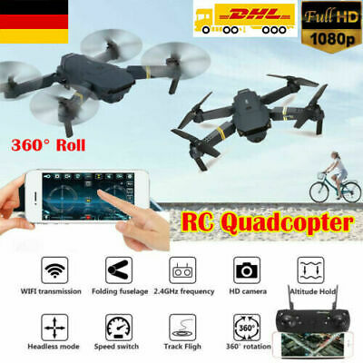 Eachine E58 WIFI FPV Mit 2MP Kamera Weitwinkel Faltbare RC Drohne Quadcopter toy