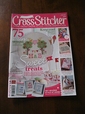 Cross Stitcher: No. 1 for Trends: Issue 255/ 2012 :Inc:Retro Flamingos:Preloved