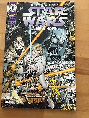 Classic Star Wars A New Hope Comic Book #1 -Thomas Chaykin