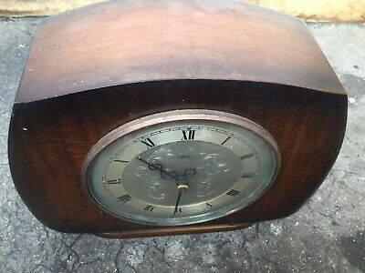Smiths Tempora Mantel Clock Working