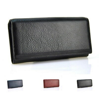Women Genuine Leather Bifold Wallet Cellphone Bag Purse Coin Credit Card Holder