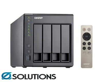 QNAP TS-451+ 4G 4 Bay Diskless NAS Quad-core 2.0GHz CPU 4GB RAM TS-451Plus