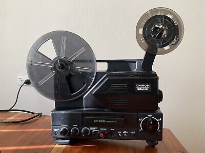 Super 8mm Projector With Sound. Chinnon SP 330