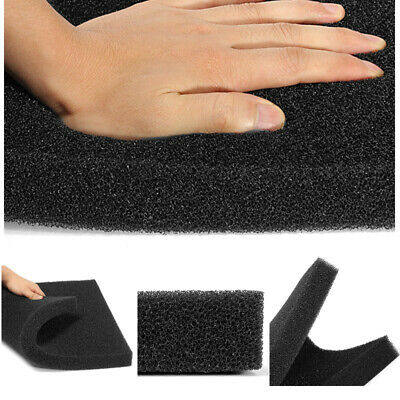 Universal Black Activated Carbon Foam Sponge Air Impregnated Sheet Filter Pad