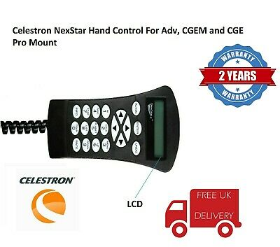 Celestron NexStar Hand Control For Adv, CGEM and CGE Pro Mount 93997 (UK Stock)