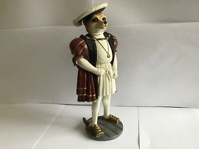 Superb Country Artists Magnificent Meerkats Henry V111 Figure