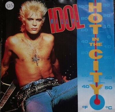 Billy Idol - Hot In The City - Vinyl Record 45 RPM