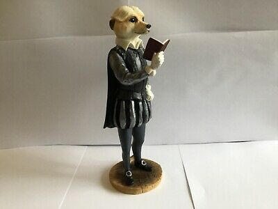 Beautiful Country Artists Magnificent Meerkats William Shakespeare Figure