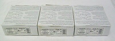 Lot of (3) Edwards 284B-PL 194°F Fixed Temperature Heat Detectors