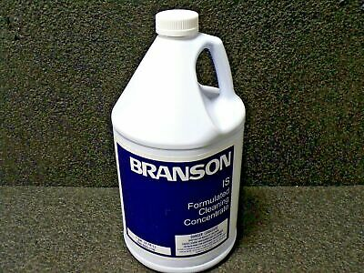 BRANSON 1 gal. Bottle Metal 3 Cleaner; For Ultrasonic Cleaners, 100-955-844 (DC)