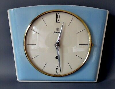 Vintage Junghans Wall Clock 14 Day In Working Order