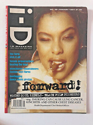 I-D MAGAZINE  January 1991 PIONEER ISSUE