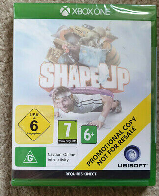 Microsoft Xbox One Game Shape Up New Sealed Promo Version