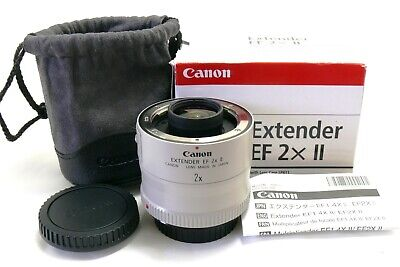 Canon Extender EF 2X II for EOS, boxed MINT