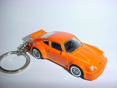 Transportation New 3d Porsche 934.5 Custom Keychain Keyring Key White Racing Finish Bling!! Moderate Price