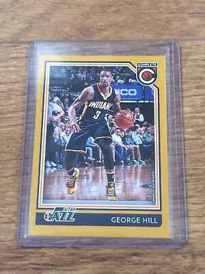 George Hill 2016/17 Panini Complete Basketball Gold#139