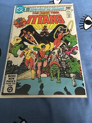The New Teen Titans #1
