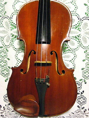 Old Full Size Violin Japanese Stradivarius labeled 1713 No Reserve!!