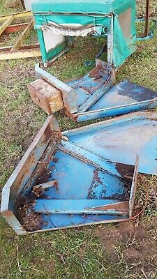 Ford  4000 tractor cab, wings,seat and toolbox