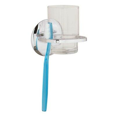 Wall Mount Classic Toothbrush & Cup Holder Chrome Brass   Renovator's Supply