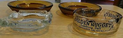 Vintage Ashtrays From Nob Hill ,& Mgm Grand Hotels & Casino L.v.