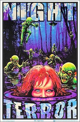 Night Terror Blacklight Poster 23 x 35