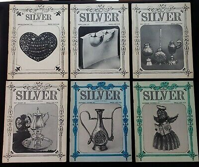 "1971 Silver Magazine's - Complete Set  Jan- Dec ""Very Good Condition."""